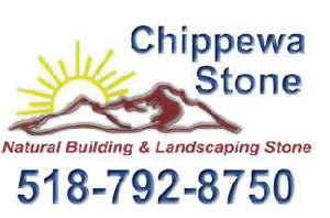 Logo for Chippewa Stone, Whitehall, New York
