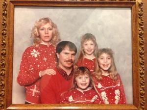 Awkward Family Christmas Portrait
